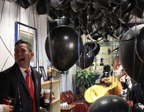 Principal Silva celebrating his 40th birthday in 2017. Silva has been Creeks principal for over a decade.