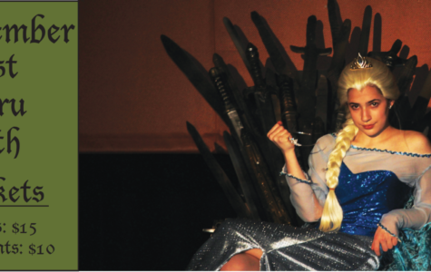Ellie (Sophomore Hannah Katz) crushes the tiara she desperately wants.