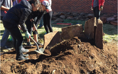 Students revitalize East Courtyard