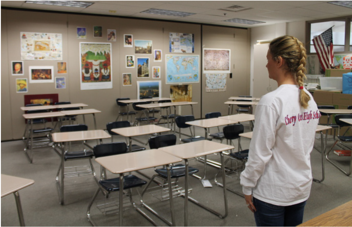 Classrooms were left empty on Wednesday, Nov. 1 when the senior class called a ditch day.