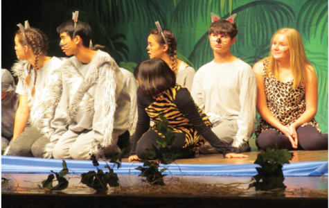 Unified theater actors performed The Jungle Book in the Fine Arts Theater on Nov. 14.