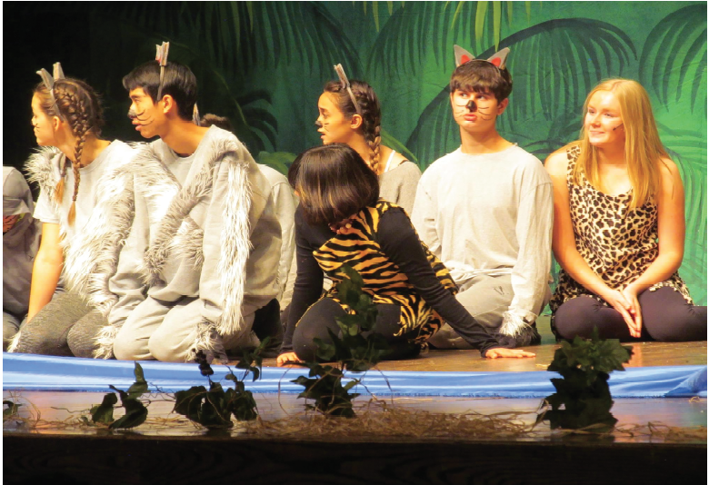 Unified+theater+actors+performed+The+Jungle+Book+in+the+Fine+Arts+Theater+on+Nov.+14.