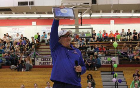 April 2018 17 Coach Art Quinn wins TIA Coach of the Year Award