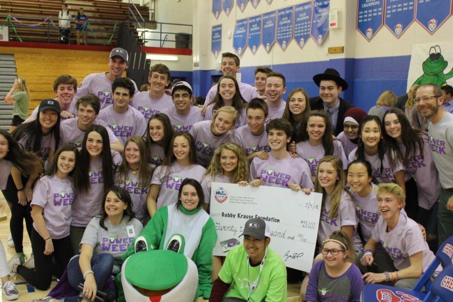Student+Senate+helped+Creek+raise+%2423%2C000+towards+bags+of+fun.