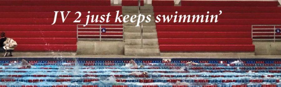 JV 2 just keep swimmin'