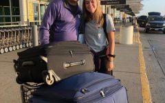 University of Washington student, Abby Miranda with her father Rick Miranda.