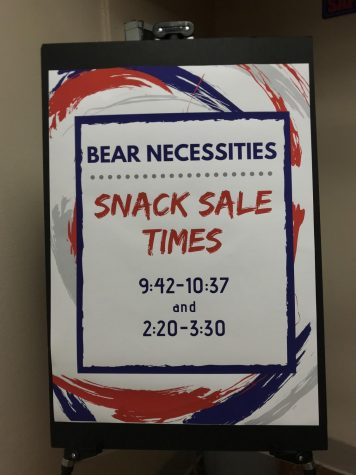 Bear Necessities starts selling snacks at different times