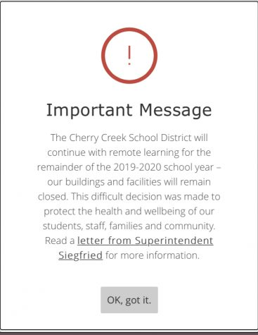 CCSD in now finishing the year remotely