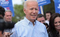 President-Elect Joe Biden at a 2019 campaign rally