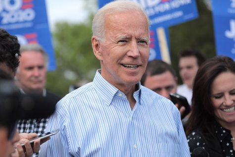 President-Elect Joe Biden at a 2019 campaign rally