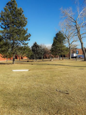 Behind the old school house is a potential place a basketball court may be placed with the recent $10,000 donation gifted by the Leaffer family. This is being used to benefit the students of Creek & their mental health with guest speakers and outdoor recreational areas on campus.