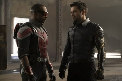 Anthony Mackie and Sebastian Stan star in The Falcon and the Winter Soldier, a new Marvel TV series, as sometimes conflicted friends. Following the loss of their friend and colleague Steve Rogers, known as Captain America, their paths cross a little more than they