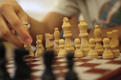 SKYROCKETING: Chess board sales increased over 200 percent in the month after the release of The Queen