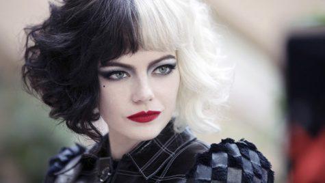 Emma Stone as Cruella de Vil.