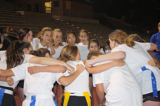 Powderpuff was no joke this year, as teams went into Monday night with their game faces on.